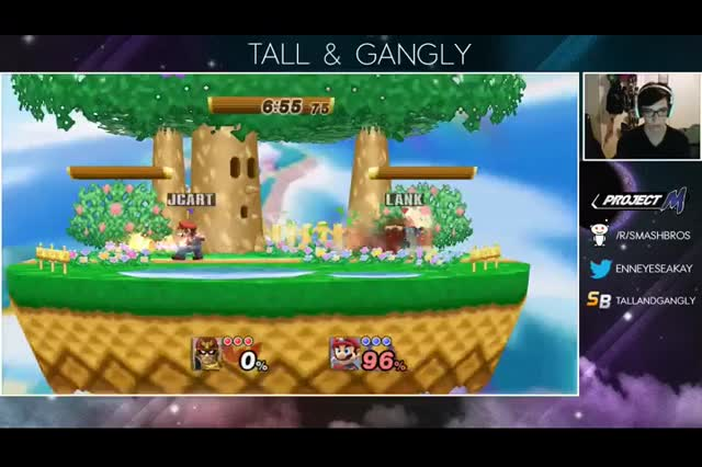 The Fireball of the Ages (x-post /r/smashbros)