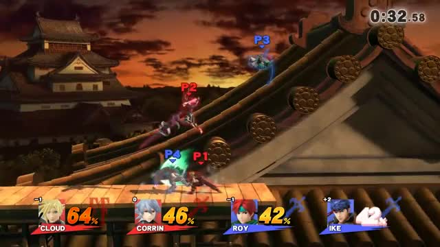Corrin & Cloud Team Kill