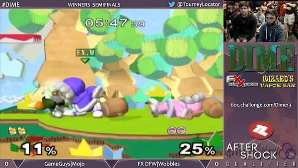 Wobbles with an insane combo off a nana back throw