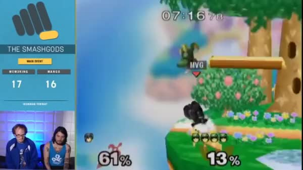 Mango's stylish Capt. Falcon movement from the Iron Cup.
