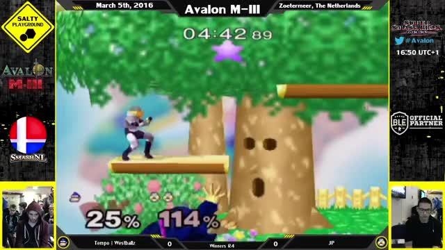 Westballz sneaking in an edge-cancel