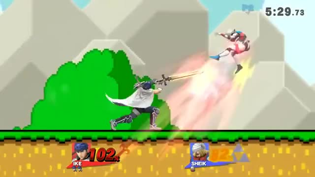 ZSS is not the only character that can hit a 2 frame edge guard against Sheik