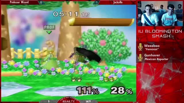 Marth learns how to dance off-stage. (x-post /r/ssbm)