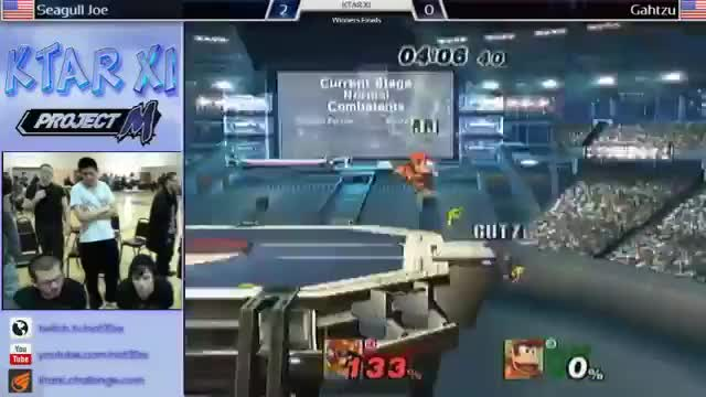 Ghatzu's amazing 0-to-death comeback