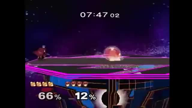 What happens when Armada plays marth?