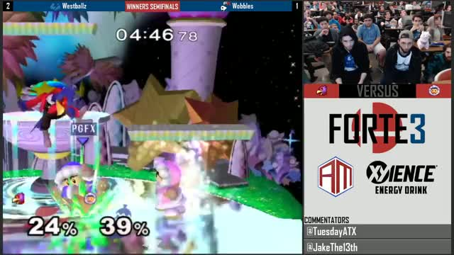 Wobbles destroys Westballz
