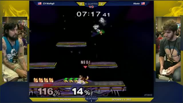 Mang0 showing Abate there's levels to this