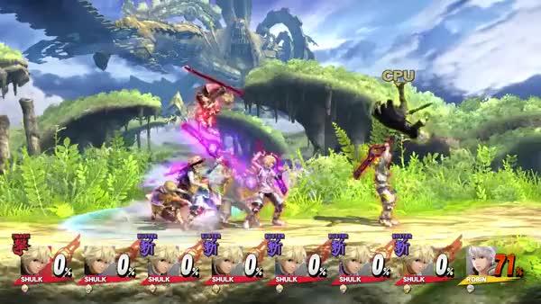 7 Shulks, 6 Up-airs, 1 Robin