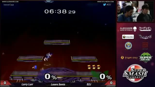 S2J (Cpt. Falcon) with the delicious techchase on Larry Lurr (Falco) (SSS 24 Loser's Semis)
