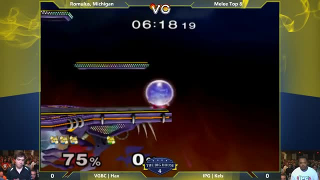 Hax with the hard conversion vs Kels off a Spotdodge Shine