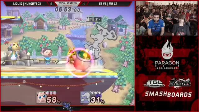 MrLz with a ridiculous Bacon to 9 hammer vs. HBox
