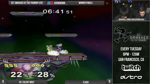 Flash with a super creative sheik combo