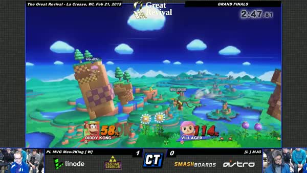 MJG gets a tree KO on M2K for the win