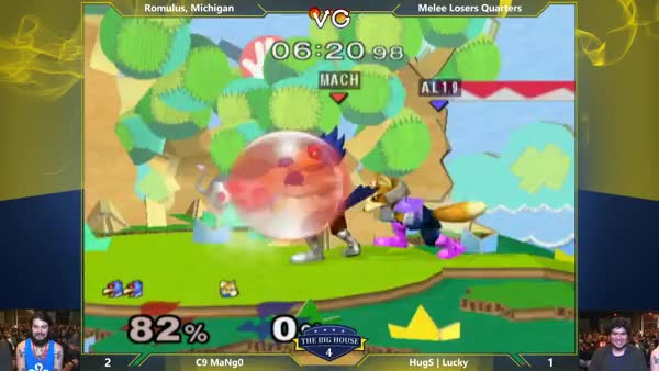 Lucky goes ham on mango