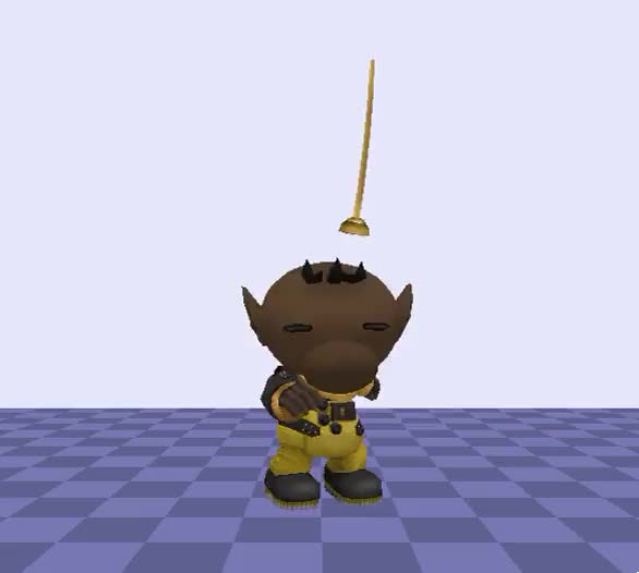 A while back y'all wanted that Olimar spin as a victory animation? Well here you go!