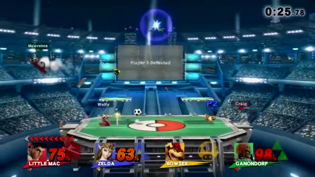Little Mac Gets Bamboozled by Spherical Objects