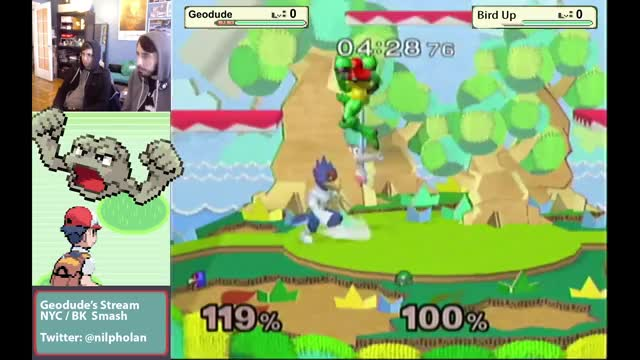 Samus disguises missile as Shy Guy, wins.