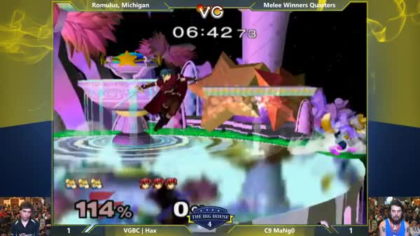 Hax putting in that Monday 9-5 Grind [xpost /r/smashbros]