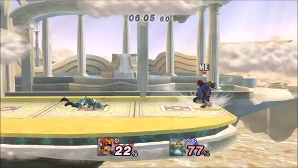 How to properly lose as Falcon