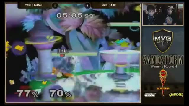 Axe going DEEP for a last stock kill on leffen