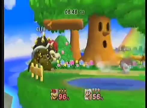 Bowser has some mad tech chases.