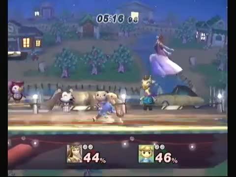 Zelda's Explosive Combo