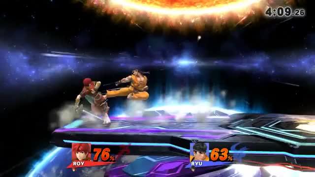 Roy double shield break