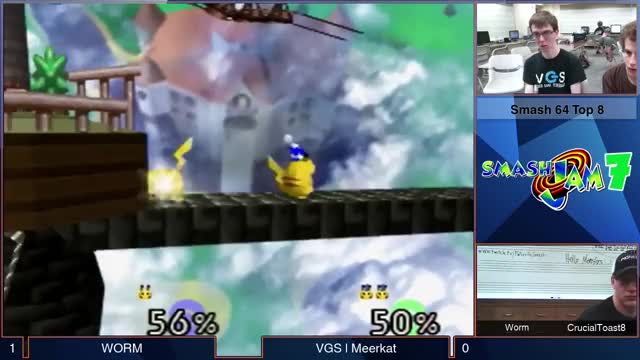 The jank in Smash 64 is the best. [GIF]