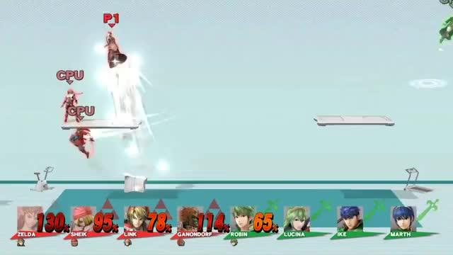 Never play vs CPU Robin in 4v4 Smash [Repost from r/smashbros
