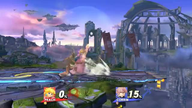 Gotta love Peach's jab lock