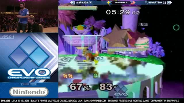 [EVO 2015] Armada vs Hbox – The End