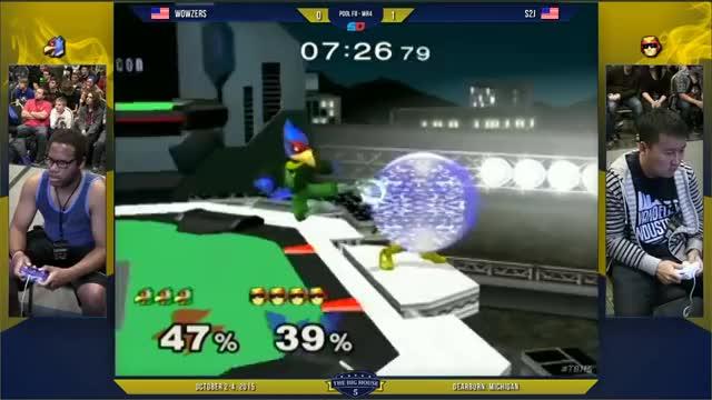 S2J edgeguards Falco