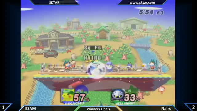 This is why ESAM's my favorite Pikachu in Brawl