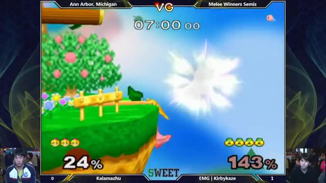 Kirbykaze with an insane recovery