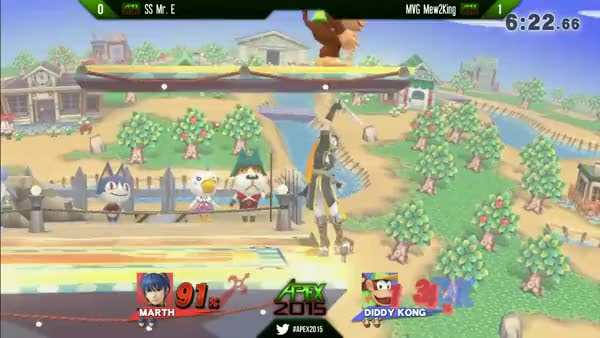 Mr. E with the Ledge Trump Setup on M2K