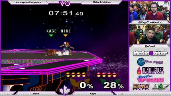 Holy Shit N0ne is crazy dude, look at these late upairs (Kage vs. N0ne Exhibition)