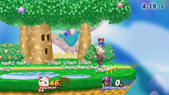 Working on my Jigglypuff gimp game, pretty nice 0-death I pulled off against a Falcon player
