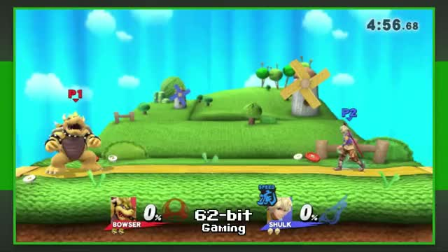 When you got him scared (Smash 4 Bowser)