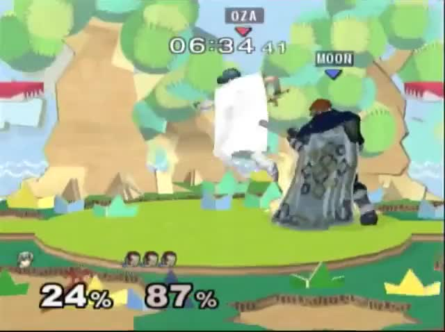 [Marth] secret anti-Ganon technology – dthrow stage spike
