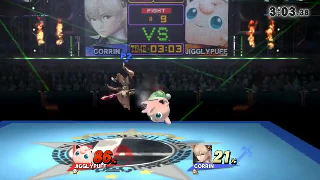 Corrin's counter is a perfectly balanced move in Super Smash Brothers for the Nintendo 3ds and Wii U.