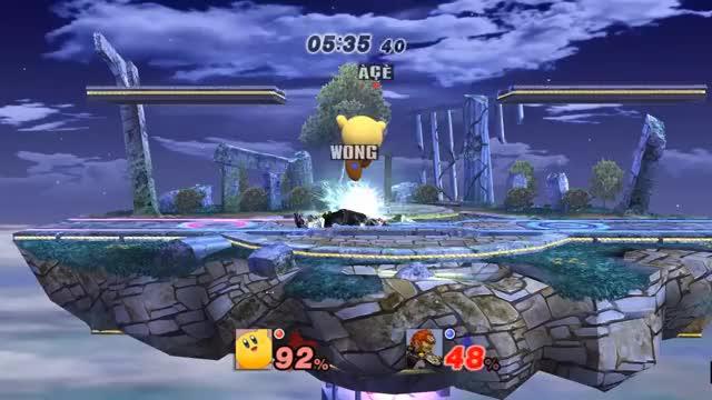 Clean Final Cutter Meteor Smash. [xpost /r/smashbros]
