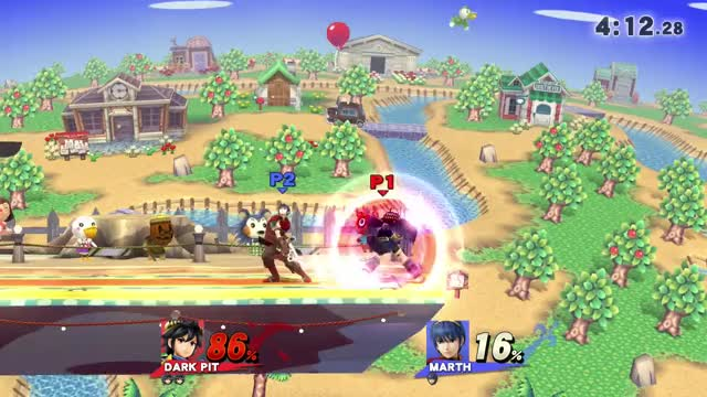 Dark Pit 0 to Death off of Counter Read