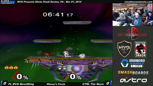 Mew2king stops the match