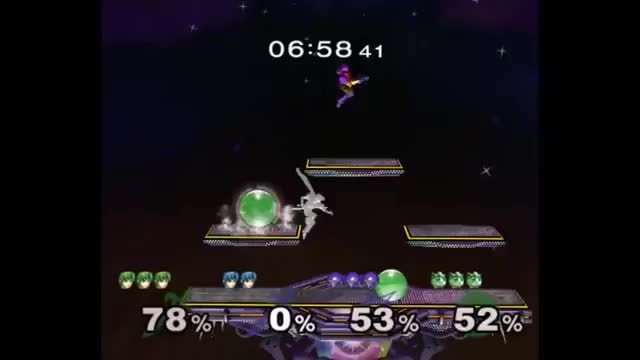 [Marth] Quick double dunk