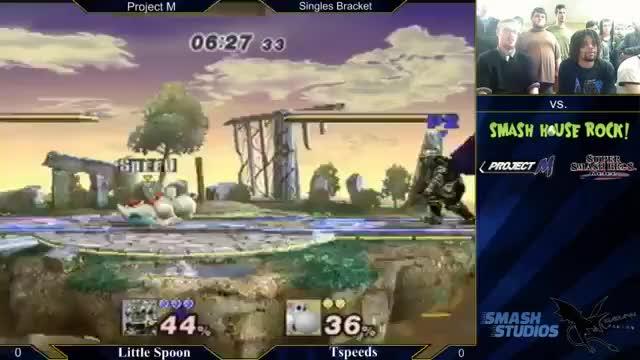 LittleSpoon with the panic f-smash.