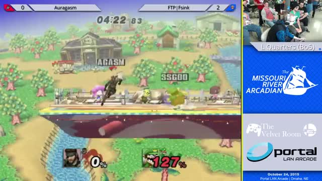 Very Clutch 0-Death Combo to complete a 2 stock comeback