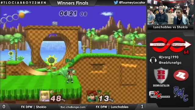 shokio's game winning zss string against lunchables