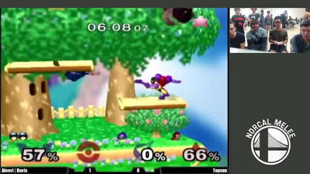 Landed a moonwalk reverse falcon punch to end the set.