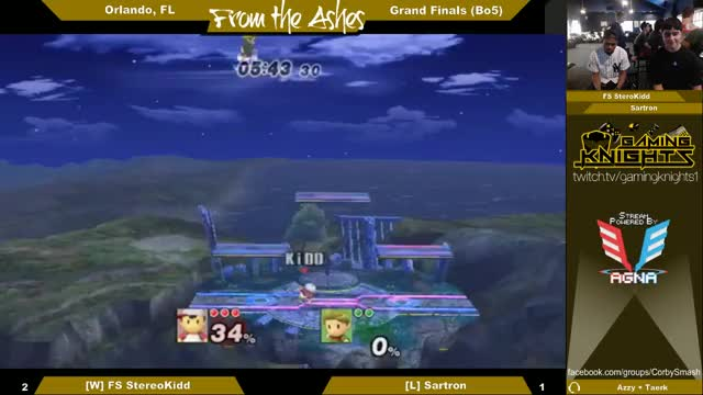 Stereokidd with a smooth footstool 0 to death