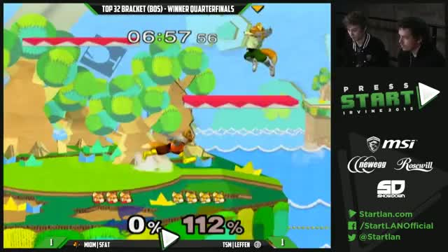 SFAT takes Leffen's stock by breaking his shield
